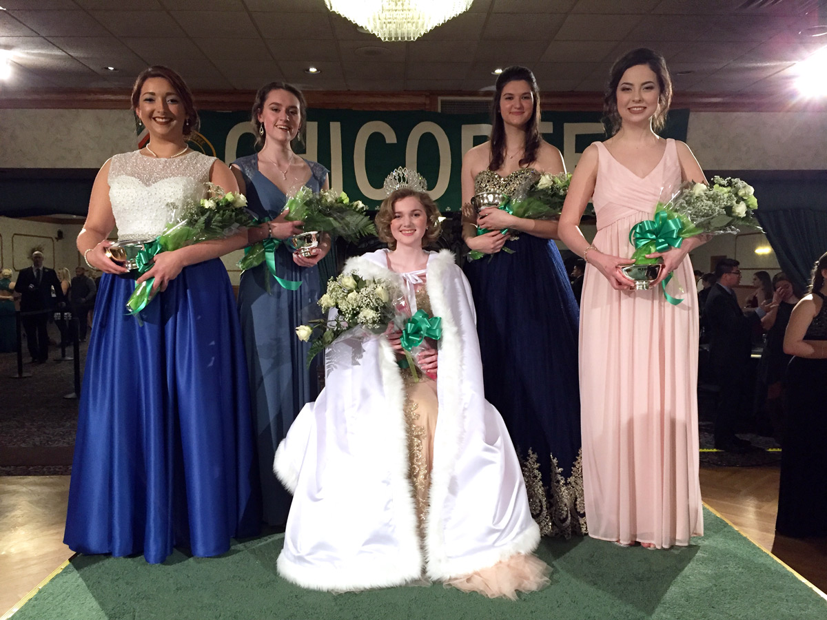 2017 Chicopee Colleen and Court