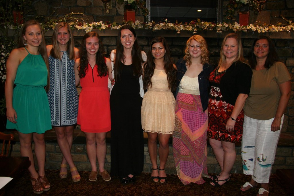 2016 Chicopee St. Patrick's Parade Committee scholarship recipients